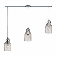 ELK 46019-3L Danica Contemporary Polished Chrome Multi Pendant Light