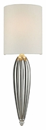 ELK 46030/1 Martique 23 Inch Tall Silver Leaf Wall Lighting Fixture - Transitional