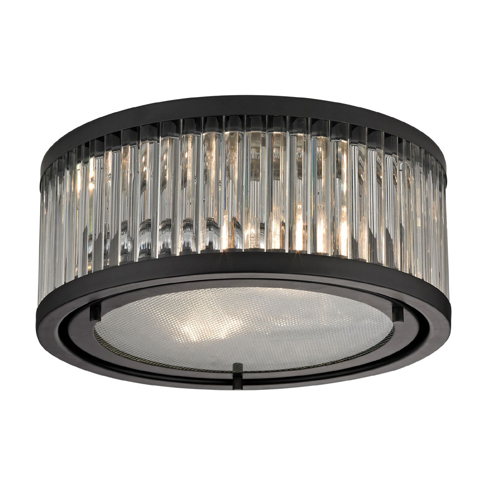 Elk 46132 2 linden oil rubbed bronze flush mount ceiling light elk 46132 2 linden oil rubbed bronze flush mount ceiling light fixture loading zoom aloadofball Image collections
