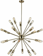 ELK 46245-24 Delphine Modern Satin Brass 36  Lighting Chandelier