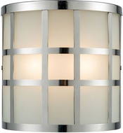 ELK 46292-2 Hooper Contemporary Polished Stainless Exterior Lamp Sconce