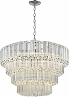 ELK 46313-7 Carrington Contemporary Polished Chrome 26  Drop Ceiling Lighting