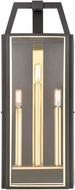 ELK 46742-3 Portico Contemporary Charcoal / Brushed Brass Outdoor Lighting Sconce