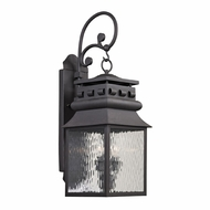 ELK 47063-2 Forged Lancaster Traditional Charcoal Exterior Light Sconce
