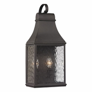 ELK 47071-2 Forged Jefferson Traditional Charcoal Outdoor Wall Light Fixture