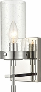 ELK 47300-1 Melinda Modern Polished Chrome Wall Light Sconce