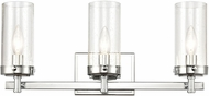 ELK 47303-3 Melinda Contemporary Polished Chrome 3-Light Bath Lighting Fixture