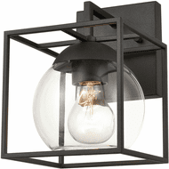 ELK 47320/1 Cubed Contemporary Charcoal Exterior 6 Light Sconce