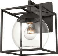 ELK 47321/1 Cubed Contemporary Charcoal Outdoor 8 Sconce Lighting