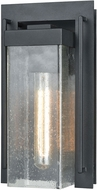 ELK 47500-1 Overton Modern Matte Black Exterior 6  Wall Sconce Light