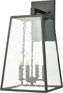 ELK 47522-4 Meditterano Contemporary Charcoal Outdoor 11 Wall Sconce Light