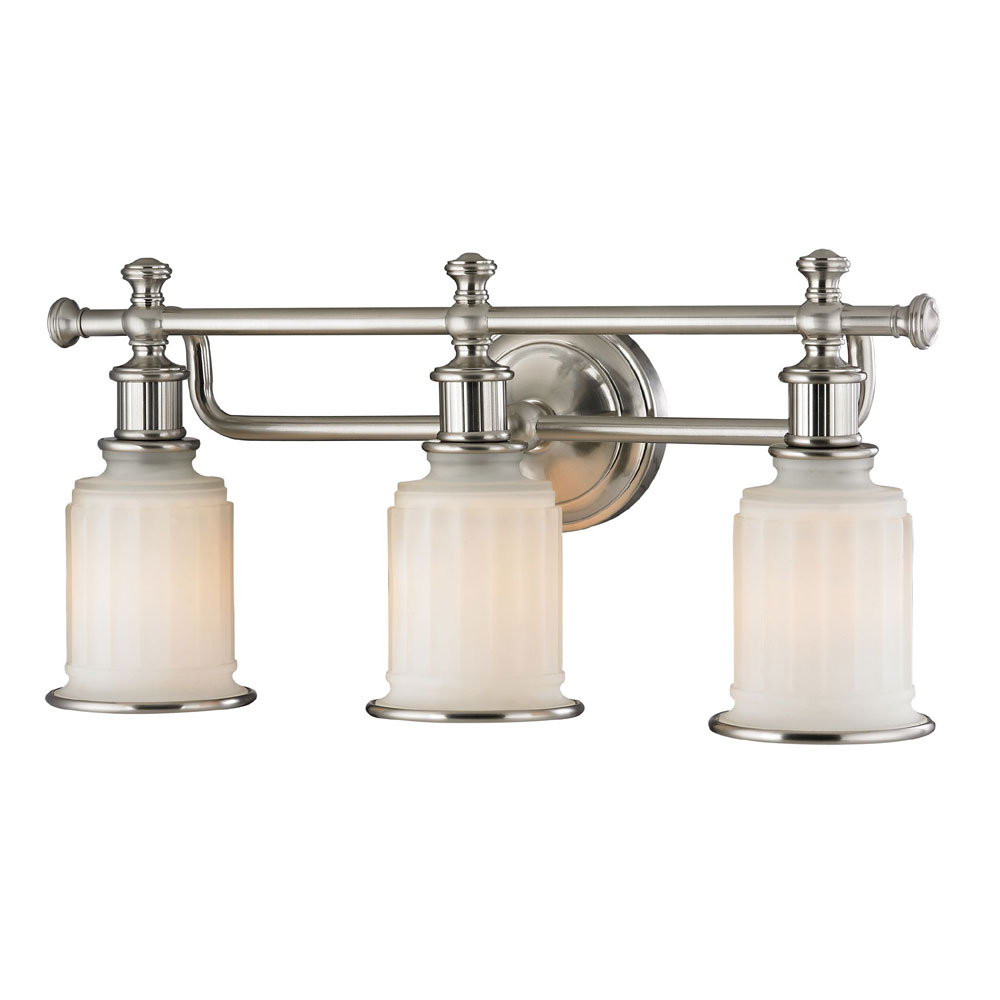 Elk 52002 3 acadia brushed nickel 3 light vanity lighting elk 52002 3 elk 52002 3 acadia brushed nickel 3 light vanity lighting loading zoom aloadofball Gallery