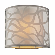 ELK 53002-1 Autumn Breeze Modern Brushed Nickel Wall Lighting Sconce