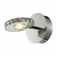 ELK 54000-1 Spiva Contemporary Polished Chrome LED Wall Sconce Lighting