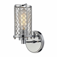 ELK 55000-1 Brisbane Contemporary Polished Chrome Wall Light Sconce