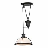 ELK 55045-1 Wilmington Modern Oil Rubbed Bronze Hanging Lamp