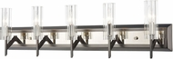 ELK 55073-5 Aspire Black Nickel / Polished Nickel 5-Light Bathroom Vanity Light Fixture