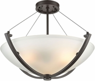 ELK 55083-3 Roebling Contemporary Oil Rubbed Bronze 23  Home Ceiling Lighting