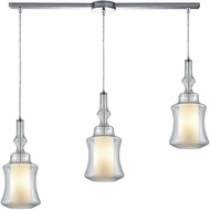 ELK 56501-3L Alora Modern Polished Chrome Multi Lighting Pendant