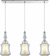 ELK 56501-3LP Alora Contemporary Polished Chrome Multi Pendant Lamp