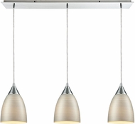 ELK 56530-3LP Merida Modern Polished Chrome Multi Pendant Lighting