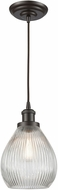 ELK 56582-1 Jackson Contemporary Oil Rubbed Bronze Mini Pendant Hanging Light