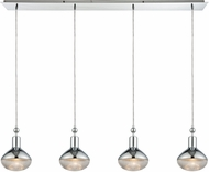ELK 56623-4LP Ravette Contemporary Polished Chrome Multi Pendant Hanging Light