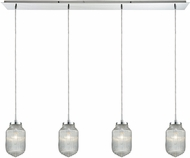 ELK 56662-4LP Dubois Contemporary Polished Chrome Multi Ceiling Light Pendant