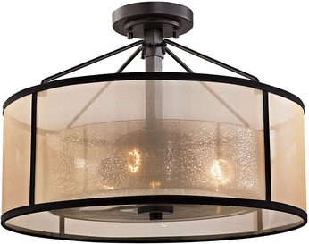Elk 57024 3 Diffusion Oil Rubbed Bronze Home Ceiling Lighting