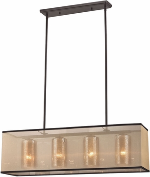 ELK 57028-4 Diffusion Oil Rubbed Bronze Kitchen Island Light