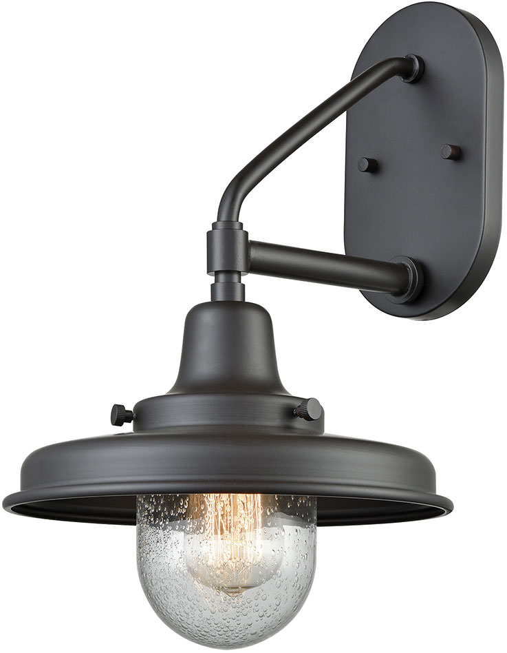 oil rubbed bronze outdoor lights mounted elk 571521 vinton station vintage oil rubbed bronze outdoor light sconce loading zoom