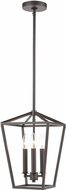 ELK 57214-3 Fairfax Oil Rubbed Bronze Mini Pendant Hanging Light