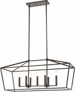 ELK 57217-7 Fairfax Oil Rubbed Bronze Island Lighting