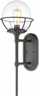 ELK 57290-1 Girard Contemporary Charcoal Exterior 9 Wall Sconce Light