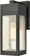 ELK 57300-1 Angus Contemporary Charcoal Exterior 4.75  Wall Lamp