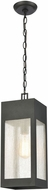 ELK 57303-1 Angus Contemporary Charcoal Outdoor Drop Ceiling Lighting