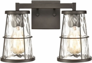 ELK 57312-2 Kendrix Contemporary Oil Rubbed Bronze 2-Light Bath Sconce