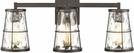 ELK 57313-3 Kendrix Modern Oil Rubbed Bronze 3-Light Vanity Light Fixture