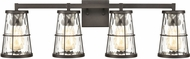 ELK 57314-4 Kendrix Modern Oil Rubbed Bronze 4-Light Vanity Lighting Fixture