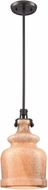 ELK 60135-1 Sheffield Contemporary Oil Rubbed Bronze Mini Hanging Lamp