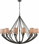 ELK 63075-12 Morrison Oil Rubbed Bronze Lighting Chandelier