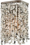 ELK 65300-1 Agate Stones Contemporary Weathered Bronze Lighting Wall Sconce