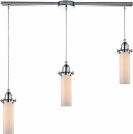ELK 66316-3L Fulton Modern Polished Chrome Multi Hanging Light Fixture