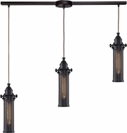 ELK 66325-3L Fulton Modern Oil Rubbed Bronze Multi Pendant Light