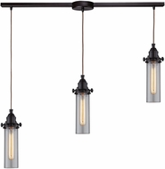 ELK 66326-3L Fulton Contemporary Oil Rubbed Bronze Multi Pendant Light Fixture