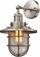 ELK 66356-1 Seaport Nautical Satin Nickel Lighting Sconce