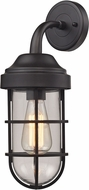 ELK 66365-1 Seaport Nautical Oil Rubbed Bronze Lamp Sconce
