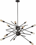 ELK 66915-12 Xenia Contemporary Oil Rubbed Bronze Chandelier Light