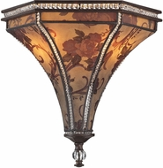 ELK 66920-2 Mica Contemporary Weathered Bronze Wall Light Sconce