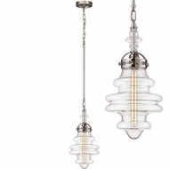 ELK 67117-1 Gramercy Contemporary Polished Nickel Mini Drop Lighting Fixture